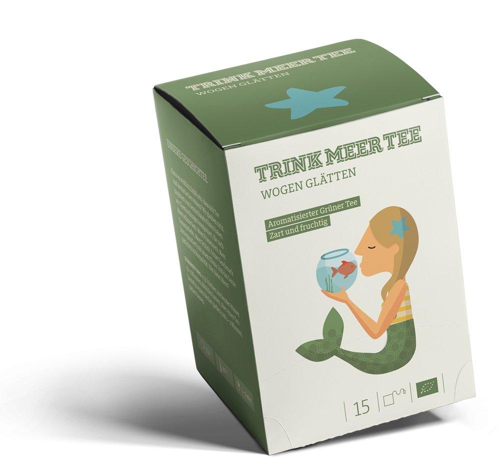 Wogen-Gltten-ein-aromatisierter-Grner-Tee-zart-und-fruchtig