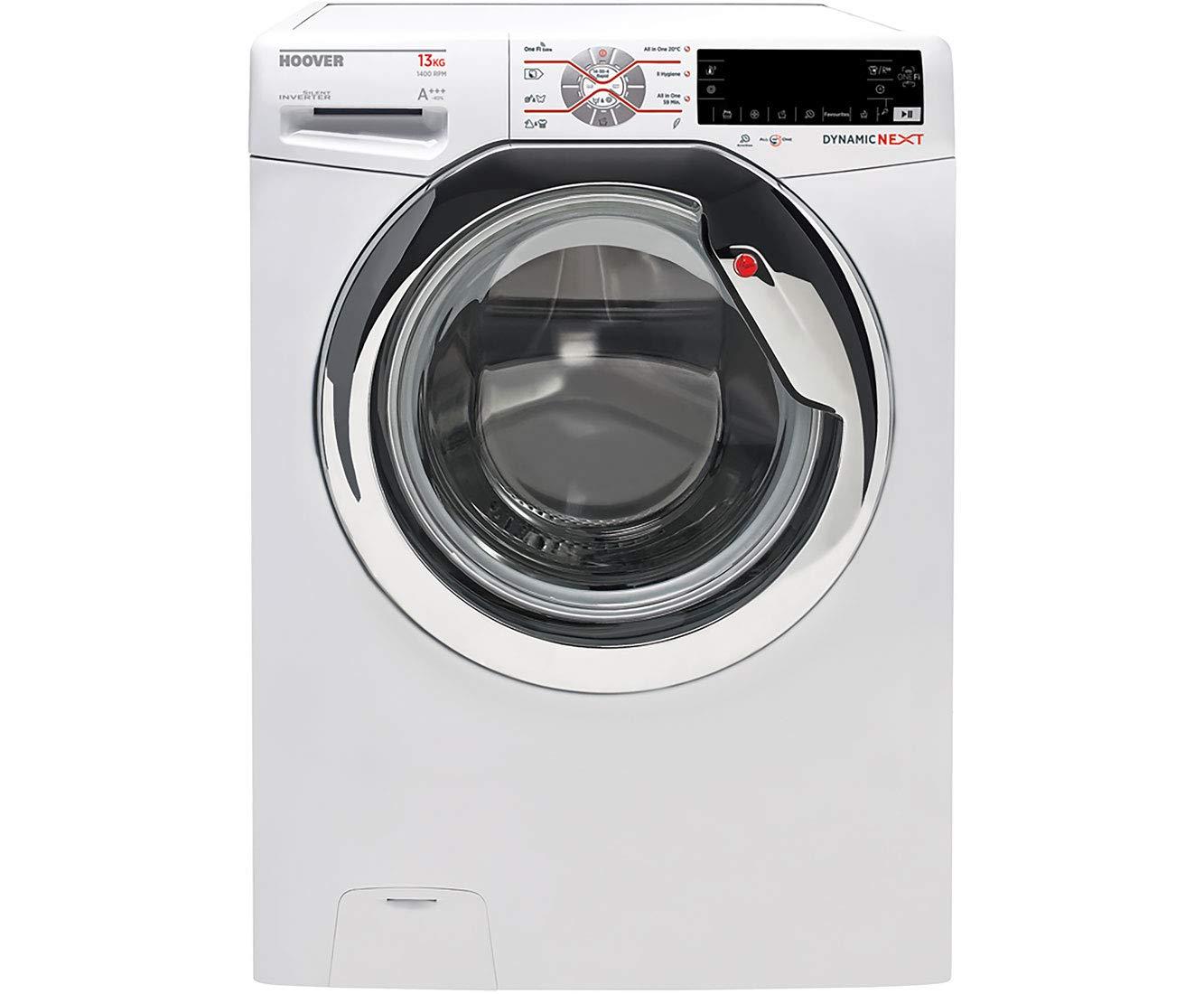 Hoover-dwot-413-ahc31-s-autonome-Belastung-Bevor-13-kg-1400trmin-A-Edelstahl-Waschmaschine–Waschmaschinen-autonome-bevor-Belastung-Edelstahl-links-LCD-80-l