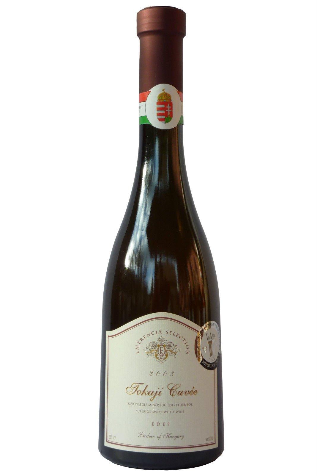 Tokaji-Cuvee-Emerencia-Selection–Jahrgang-2003-Trockenbeerenauslese-aus-Ungarn-Weiwein-S