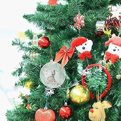 Christbaumkugeln Günstig Kaufen.20 X Christbaumkugeln Dekorationen Rund Klar Glas Befüllbare Kunststoff Craft Balls Ornaments