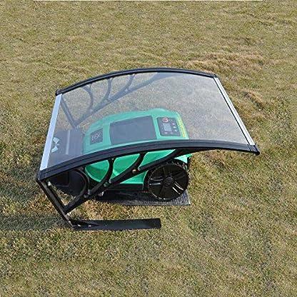 Mhroboter-Garage-Dach-Carport-berdachung-fr-Rasenmher-Roboter-Rasenroboter-Automower-Schutz-vor-Regen-Hagel-und-UV-Strahlen-103x77x-455cm