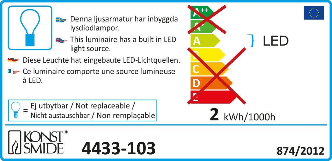 Konstsmide-4433-103-LED-Lichtervorhang-Acrylsterne-5er-Set-fr-Innen-IP20-24V-Innentrafo-30-warm-weie-Dioden-transparentes-Kabel