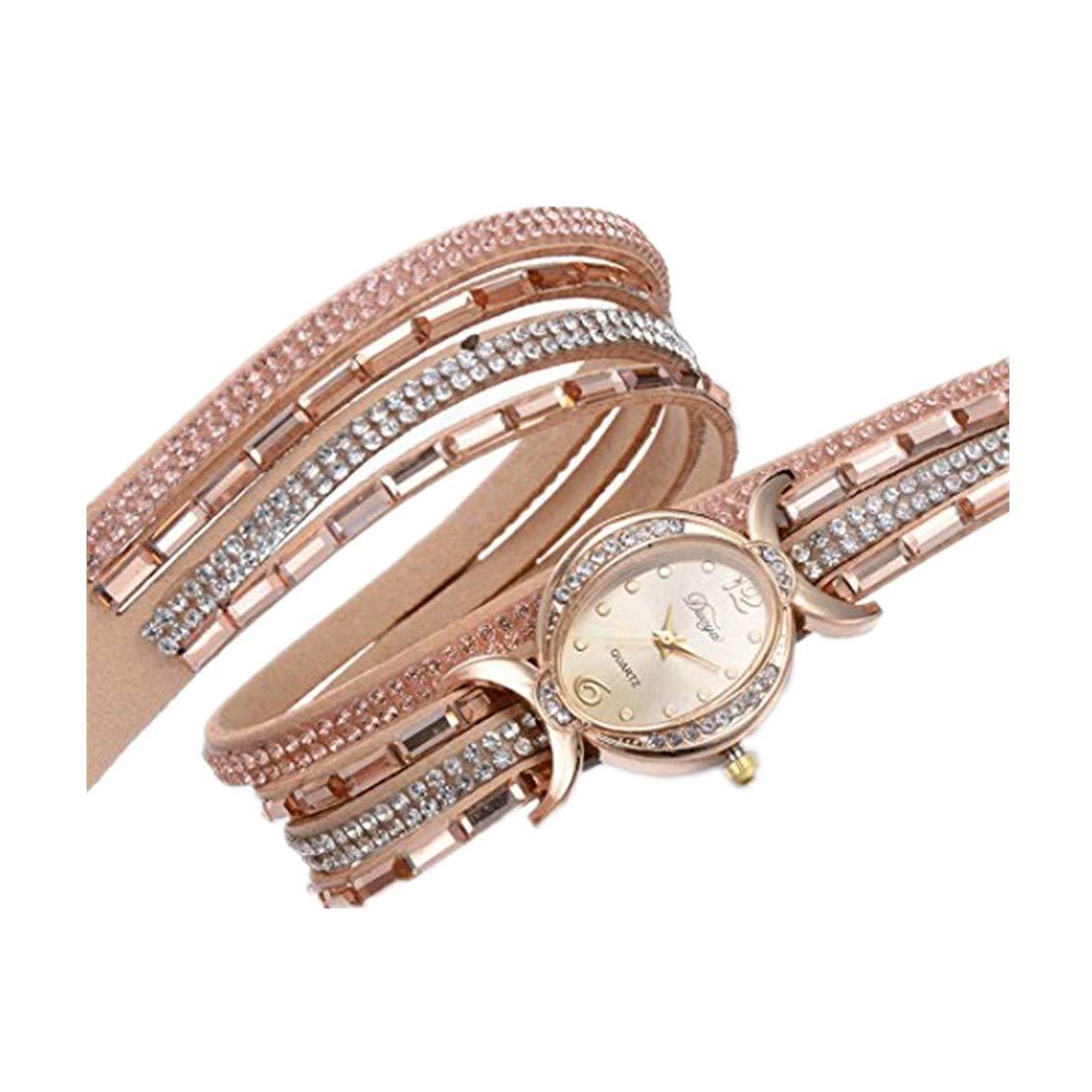 Uhren-erthome-Damen-Armband-Diamant-Kreis-Uhr-Student-Mode-Table-Muttertag-Geschenk