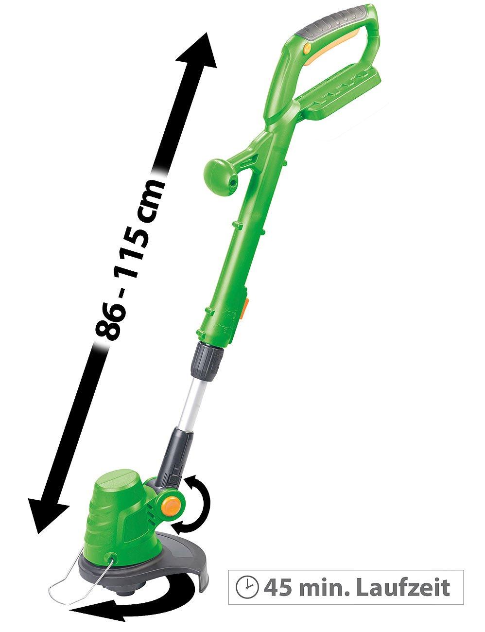 AGT-Professional-Graskantenschneider-Akku-Rasentrimmer-mit-Schnell-Ladegert–23-cm-8000-Umin-2-Ah-Motorsense