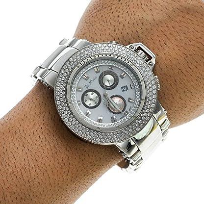 Joe-Rodeo-Diamant-Herren-Uhr-RAZOR-silber-72-ctw