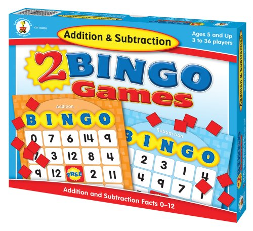 Addition-Subtraction-Bingo