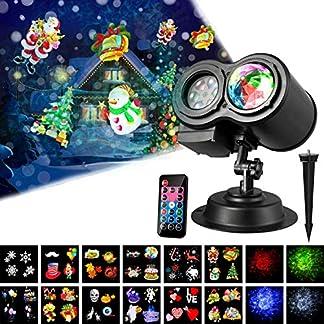 SANLINKEE-LED-Projektionslampe-Lichter-Wasserdichte-Projektionslampe-mit-Fernbedienung-und-12-Wechselbaren-Musters-LED-Effektlicht-Projektor-Licht-Gartenleuchte-Projektor-fr-Weihnachten-Halloween-Gebu