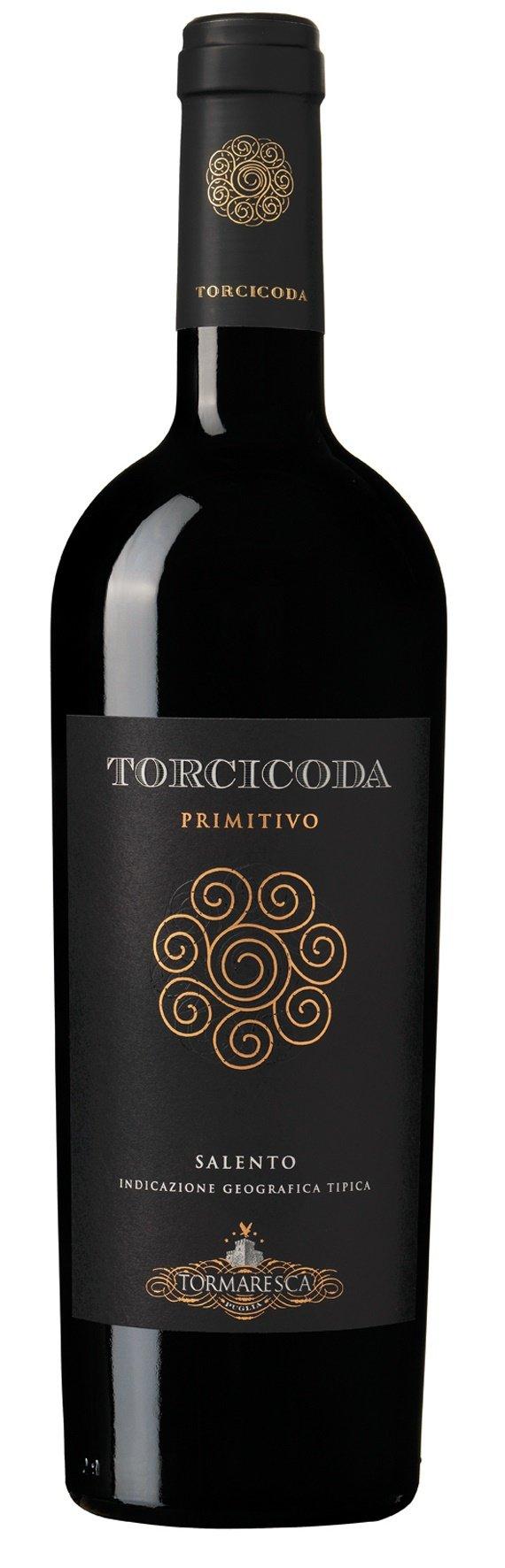 6x-075l-2016er-Tormaresca-Torcicoda-Primitivo-Salento-IGT-Apulien-Italien-Rotwein-trocken
