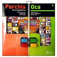 Fournier-Tischplatte-LudoOCA-und-Chips-40-x-40-cm-fr-4-Spieler-f29467