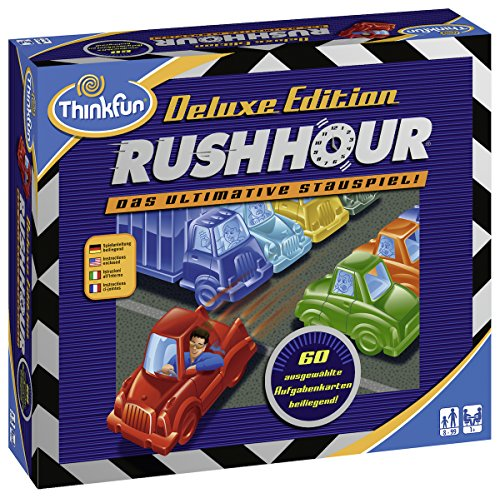 Ravensburger-76305-ThinkFun-Rush-Hour-Deluxe-Spiel