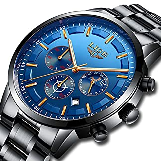Herren-Uhren-Sport-Quarz-Edelstahl-Herren-Uhren-Marke-Casual-Wasserdicht-Business-Kalender-Armbanduhr