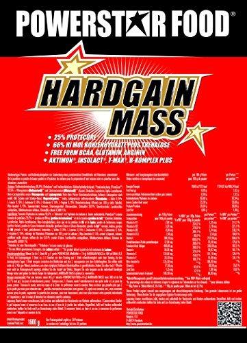 WEIGHT GAINER für HARDGAINER & MASSEPHASE – 406 kcal pro Kalorienshake – für mehr Masse, Kraft & schnelleren Muskelaufbau – Made in Germany (Vanille, 2000 g Dose)