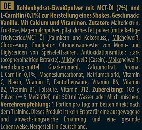 Inkospor X-Treme Weight Gainer, Vanille, 1200g Beutel