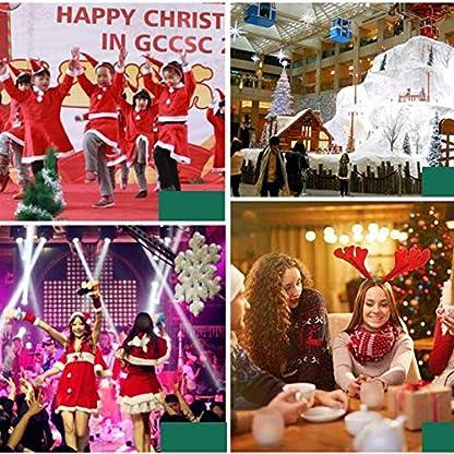 DZWLYX-Baumdecke-Weihnachtsbaum-Rock-Christbaumdecke-Rund-Wei-Weihnachtsbaumdecke-Christbaumstnder-Teppich-Decke-Weihnachtsbaum-Deko-150CM