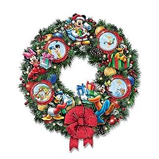 The-Bradford-Exchange-Magische-Weihnachten-mit-Disney-Beleuchteter-Weihnachtskranz
