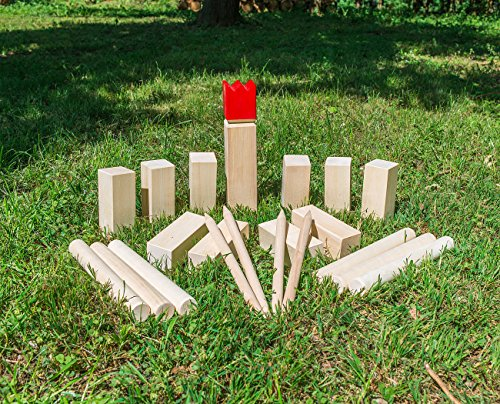 Playtastic-Wikinger-Schach-Spiel-aus-Holz-ideal-fr-Wiese-Strand-Co