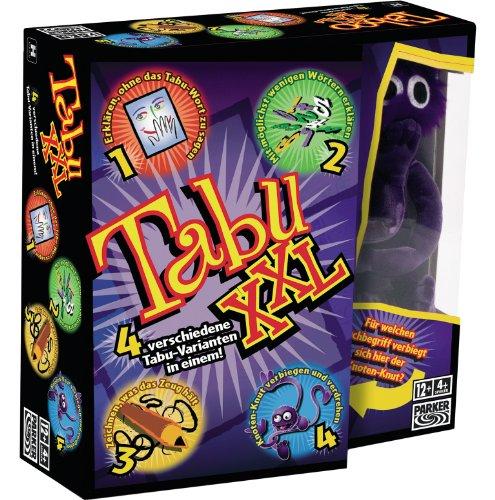 Hasbro-Spiele-04199100-Tabu-XXL-Partyspiel