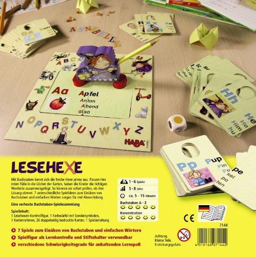 Haba-7144-Lesehexe-Lernspiel