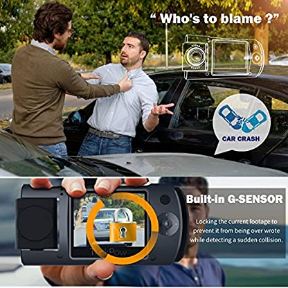 ABOX-Trekpow-Dash-Cam-Mini-Versteckt-HD-1080P-Dashcam-mit-2-LCD-170–Wide-Len-Nachtsicht-G-Sensor-Sperre-Loop-Aufnahme-Bewegungserkennung-Zeitrafferfunktion