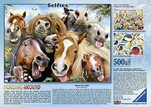 Ravensburger-Erwachsenenpuzzle-14763-Pferde-Selfie-Puzzle