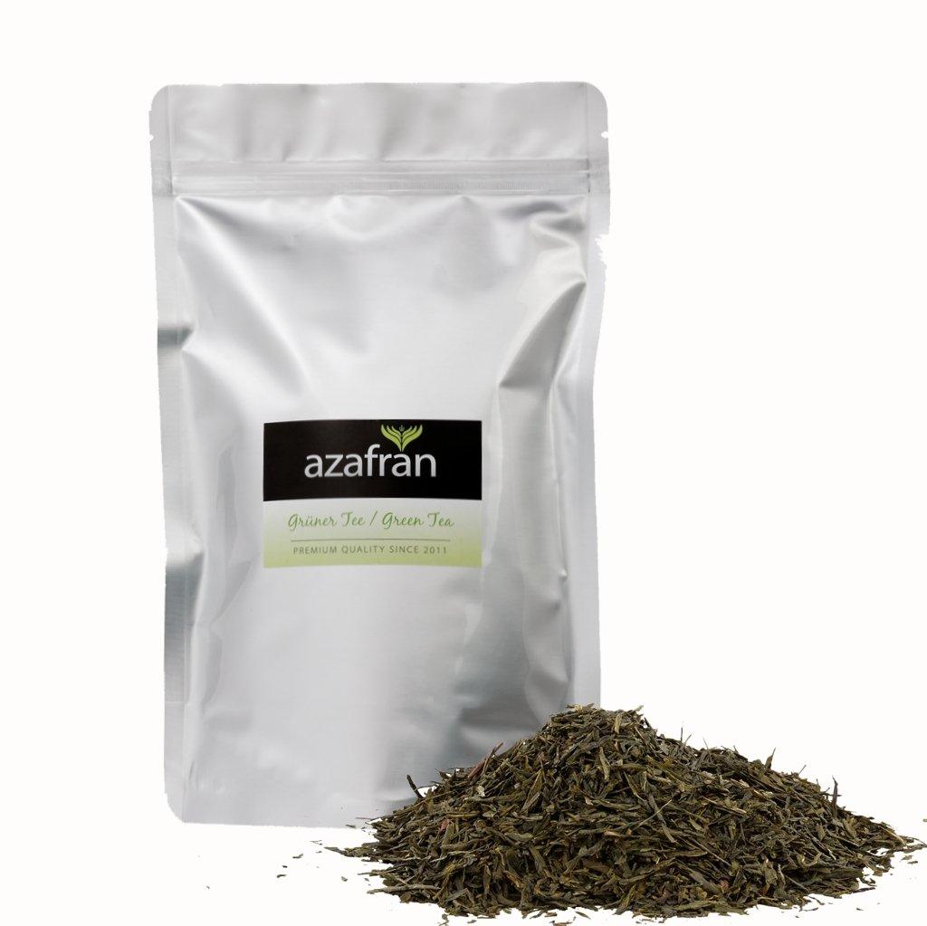 Azafran-Grner-Tee-BIO-Sencha-Grntee-Original-Uchiyama-aus-Japan-250g