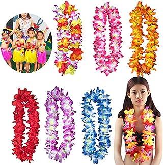 FeiliandaJJ-Hawaii-Stil-Klassisch-Dekoration-Kranz-Festival-Abschlussball-Party-Hochzeit-Geburtstagsfeier-Girlande9-Farben
