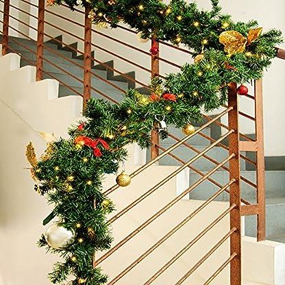 In-Outdoor-Weihnachtsgirlanden-5m-LED-Lichter-mit-oder-ohne-Deko