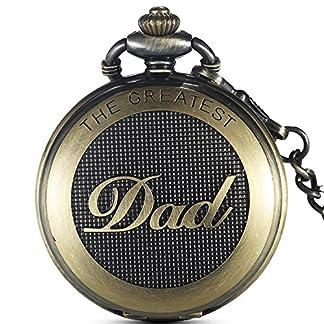 Gorben-Antike-Full-Hunter-Dad-Quarz-Taschenuhr-mit-Uhrkette-fr-Mnner-Geschenke-fr-Papa-Schachtel