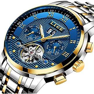 Fashion-Automatik-Edelstahl-Wasserdicht-Mechanische-Uhr-Herren-Luxus-Marke-Lige-Casual-Business-Kleid-Gents-Armbanduhr