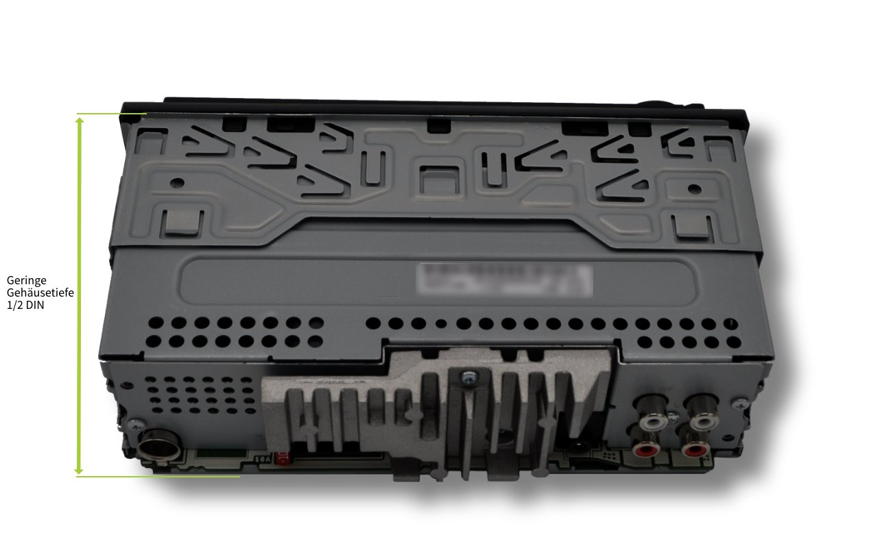 Pioneer-MVH-S300BT-1DIN-Autoradio-mit-RDS-Bluetooth-USB-AUX-Eingang-iPodiPhone-Direktsteuerung-Freisprecheinrichtung-ARC-Karaoke-Mic-Mixing