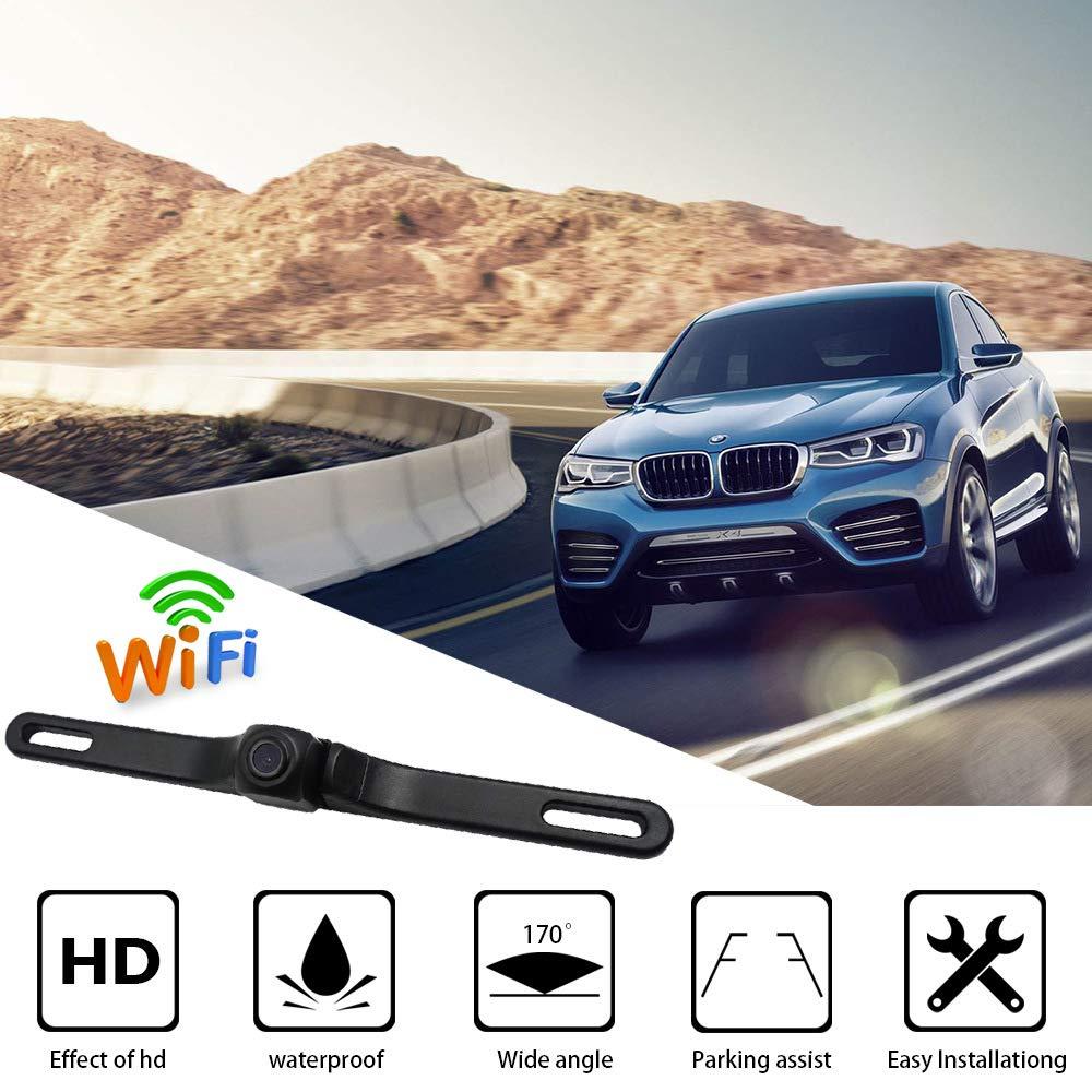 ACCDUER-Backup-Kamera-Auto-Rckblig-Kamera-Reversing-Camera-Automotive-License-Plate-Wireless-Backup-Camera-fr-Auto-Auto-Backup-Kamera-Lizenz-Platte