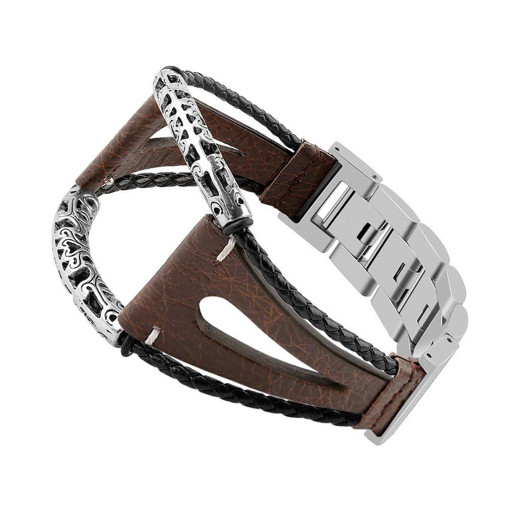 NIUQY-Sonderverkauf-Mode-Luxus-Handgemachte-Armband-Lederarmbnder-Perfekt-Geeignet-fr-Samsung-Galaxy-Watch-46mm-Charakteristisch-Geschenk