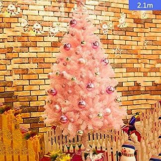 DZWLYX-Baumdecke-Weihnachtsbaum-Rock-Christbaumdecke-Rund-Wei-Weihnachtsbaumdecke-Christbaumstnder-Teppich-Decke-Weihnachtsbaum-Deko-210CM
