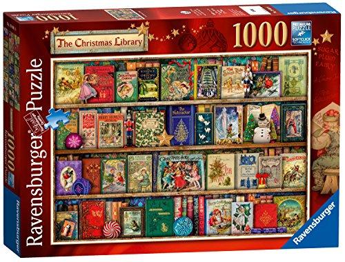 Ravensburger-Puzzle-Motiv-Weihnachtsbcherei-1000-Einzelteile