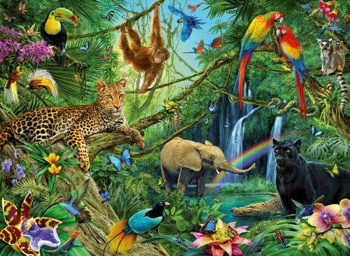 Ravensburger-12660-Tiere-im-Dschungel