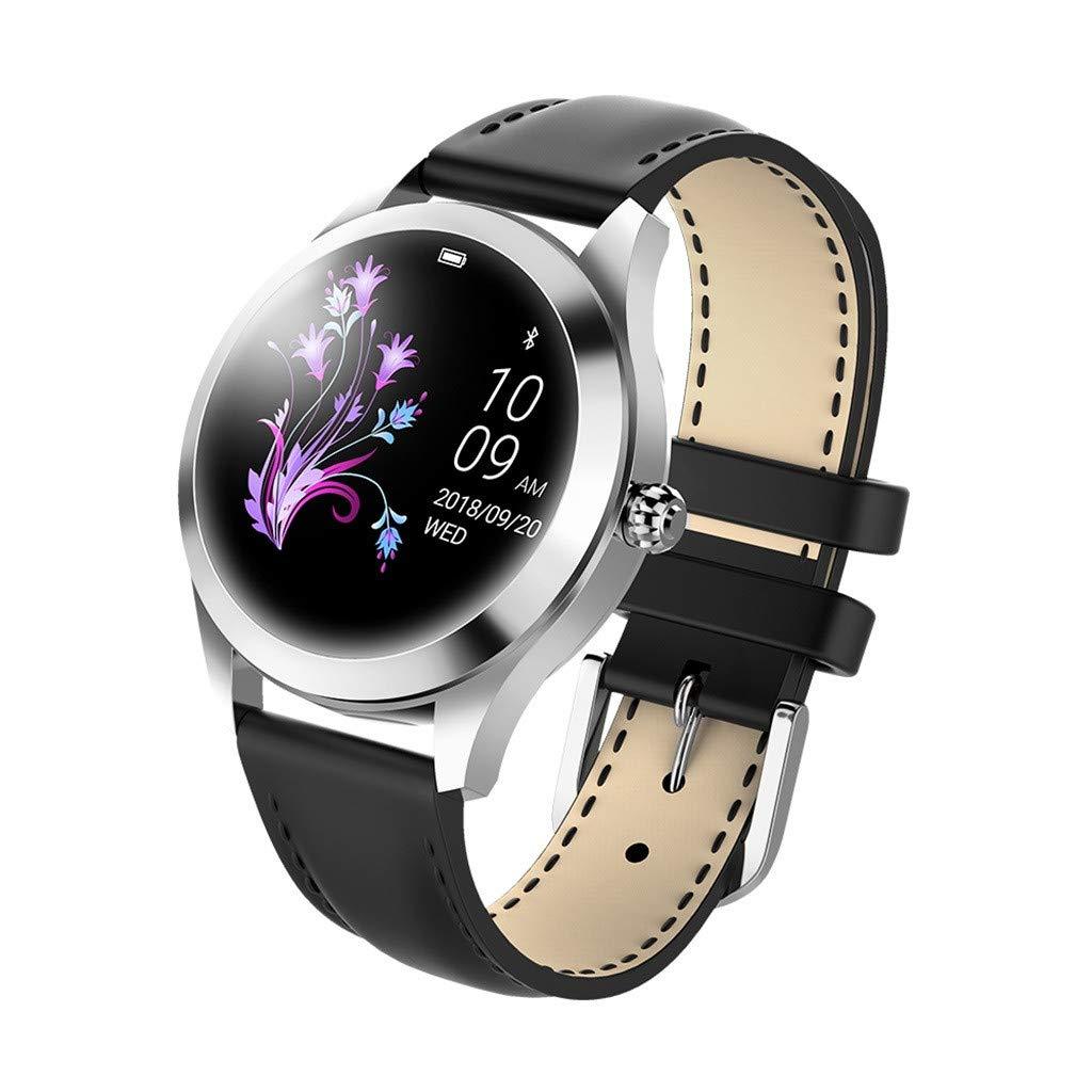 Uhr-KW10-Smart-Watch-IP68-wasserdichtes-Herzfrequenzmessgert-Armbanduhr