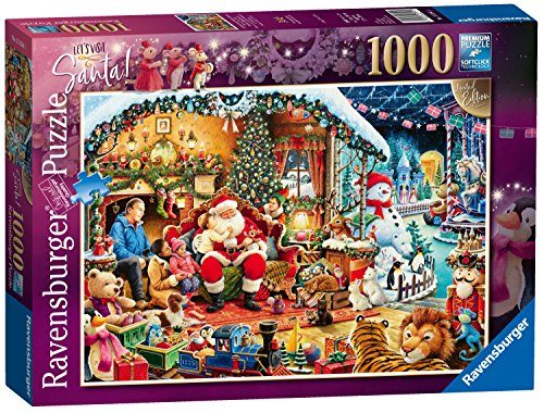 Ravensburger-UK-15354-Let-s-Besuchen-Santa-Limited-Edition-2018-Puzzle