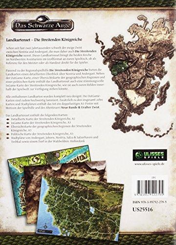 Landkartenset-Die-Streitenden-Knigreiche-Spielhilfe-Das-Schwarze-Auge–Regionalband