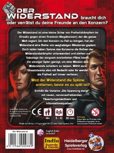 Heidelberger-HE445-Der-Widerstand-Strategiespiel