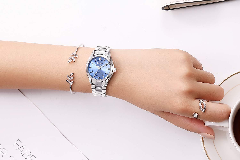 Frauen-Uhren-Lssige-Mode-Wasserdichte-Uhren-Diamant-Strass-Armbanduhr