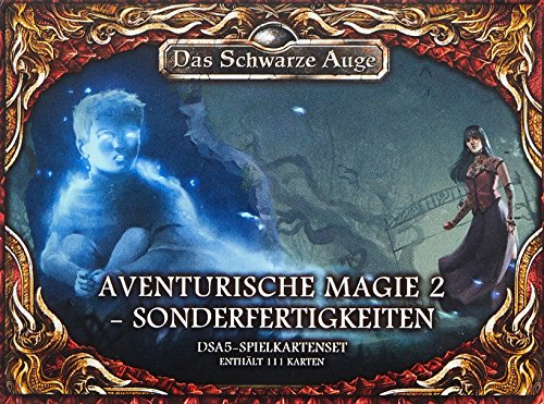 DSA5-Spielkartenset-Aventurische-Magie-2-Sonderfertigkeiten-Das-Schwarze-Auge-Zubehr