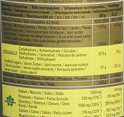 Powerbar Isoactive Lemon – Isotonic Sports Drink, 1er Pack (1 x 600 g)