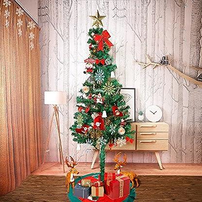KRANICH-20-Stck-Acrylkugeln-Weihnachtskugel-DIY-Hngender-Kugeln-5-cm8-CM10-cm