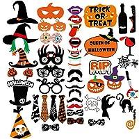 Amosfun-Halloween-Foto-Requisiten-Kreative-Halloween-Party-Dekoration-Komplette-Spa-Fotografie-Requisiten-Pack-von-47
