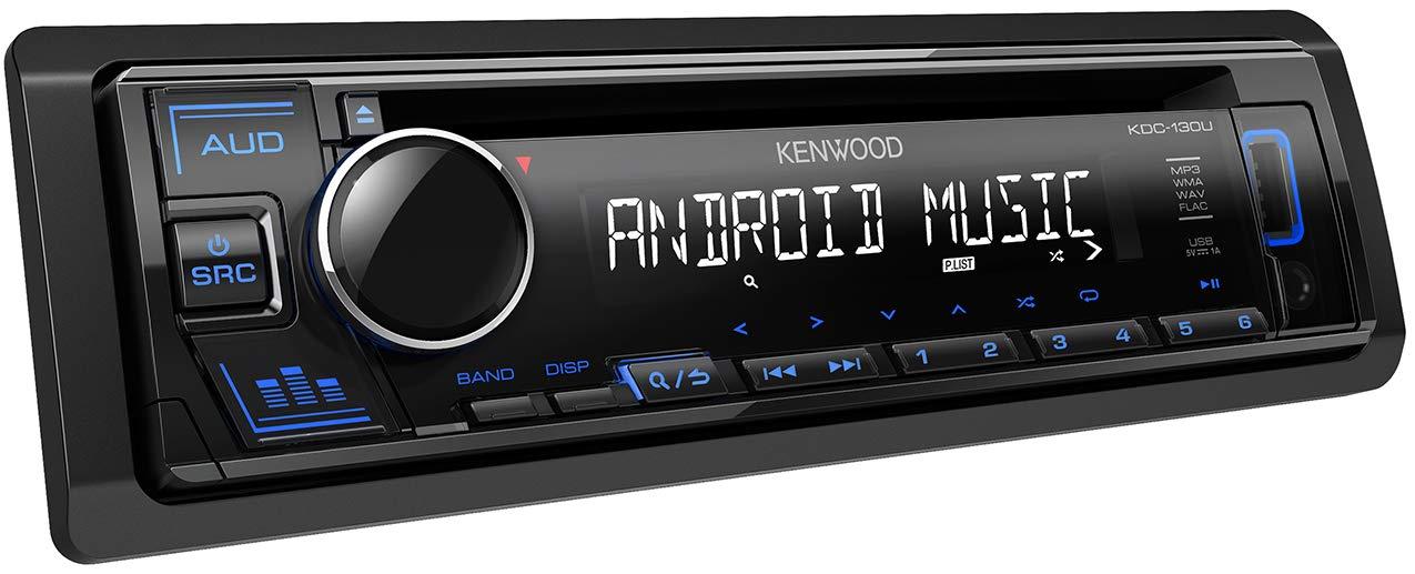 Kenwood-KDC-130UB-CD-Autoradio-mit-RDS-Hochleistungstuner-USB-AUX-Eingang-Android-Control-Bass-Boost-4×50-Watt