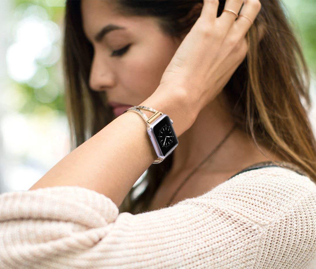 Apple-Watch-Armband-38mmArmband-Apple-Watch-Series-3-Edelstahl-Uhrenarmband-iWatch-Ersatzband-Sport-Schlaufe-Watch-Band-Armbnder-fr-Apple-Watch-Series-4