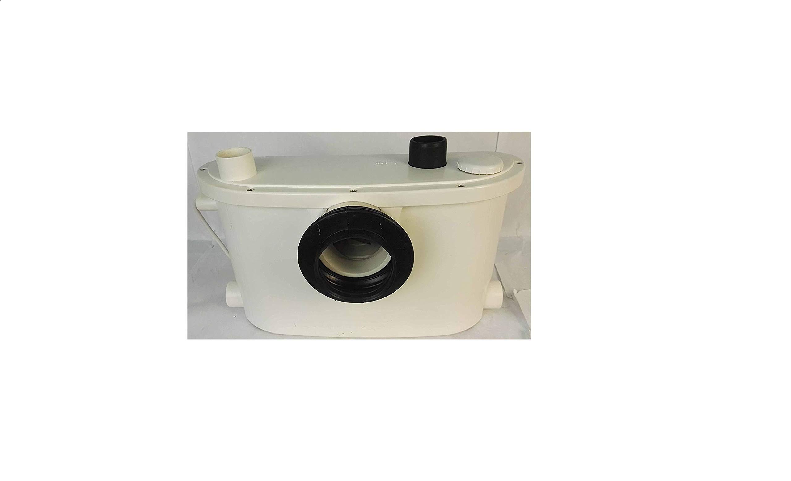 Hebeanlage-Abwasserpumpe-Pumpe-Kleinhebeanlage-Fkalien-WC-Hcksler-Zerkleinerer-Sanitr-Pumpe-Abwasser-Haushaltspumpe-400-W-Campingtoilette-Toiletten-Schmutzwasser-Pumpe-Abwasserentsorgung-Dusche-Waschb