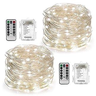 YiHong-2-Stck-Lichterkette-Batterie-5M-50er-LED-Lichterkette-Auen-mit-Fernbedienung-und-Timer-fr-Party-Garten-Weihnachten-Halloween-Hochzeit-Beleuchtung-Dekoration