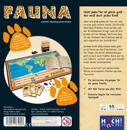 Huch-Friends-75808-Fauna-Fauna-Das-tierisch-gute-Wissensspiel