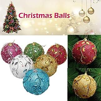 FeiliandaJJ-8CM-Weihnachtsbaumkugeln-Strass-Glitter-Kugel-Weihnachten-Deko-Anhnger-Christbaumkugeln-fr-Weihnachtsbaum-Party-Home-Hochzeit